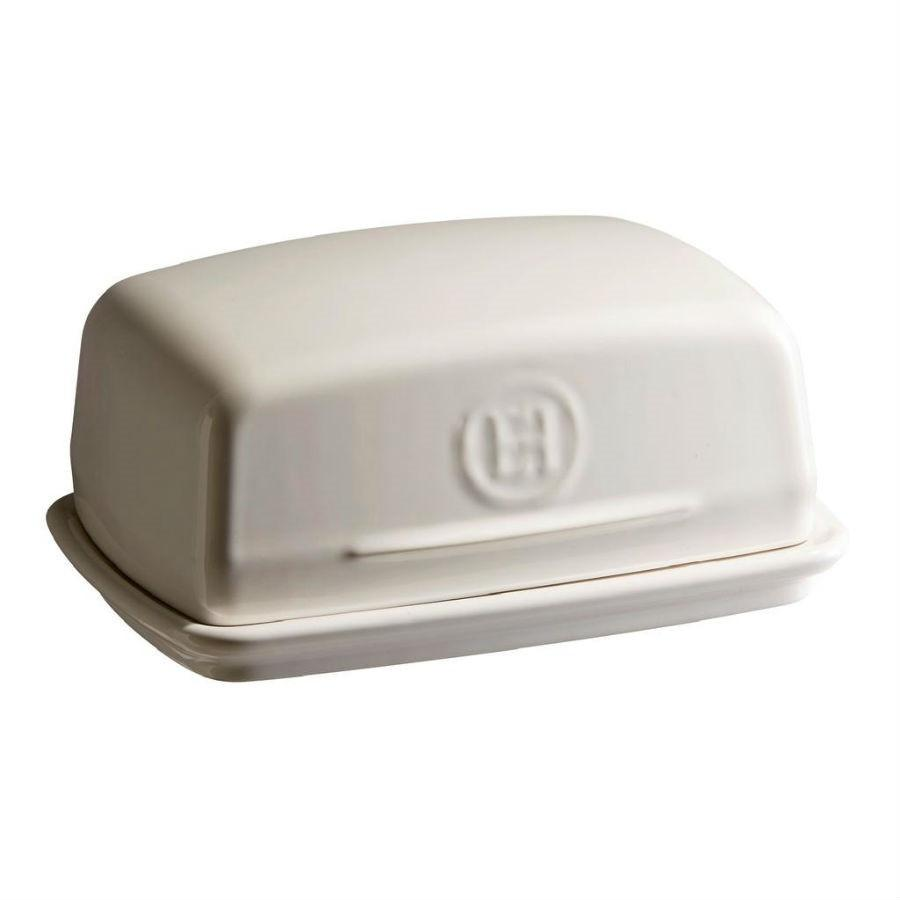Emile Henry 0.5L Butter Dish, Clay