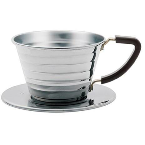 Kalita 155 1-Cup Stainless Steel Wave Dripper