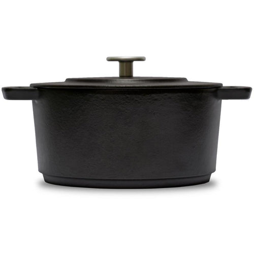 Combekk 4L Enamelled Dutch Oven Dark Grey