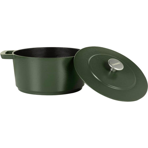 Combekk Railway 4L Enamelled Dutch Oven Dark Green