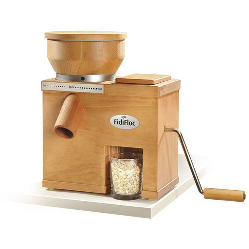 KoMo FidiFloc Medium Grain Mill and Flaker Combination
