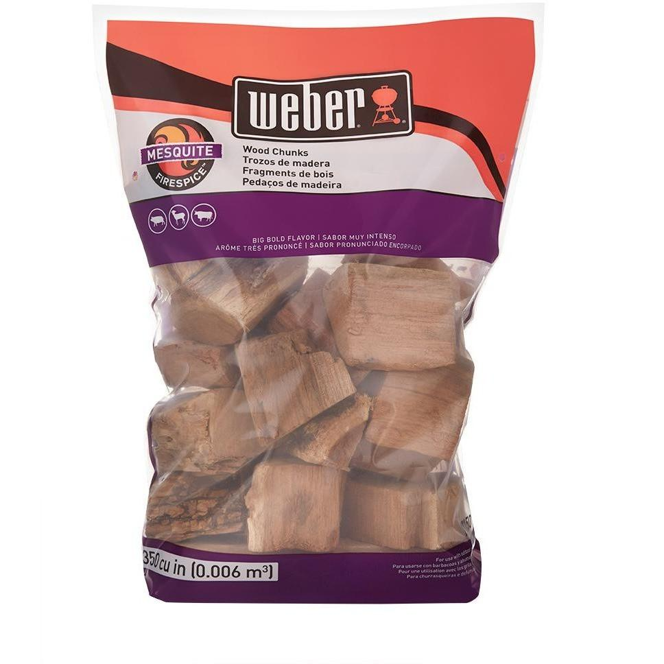 Weber Mesquite Wood Chunks 4lbs