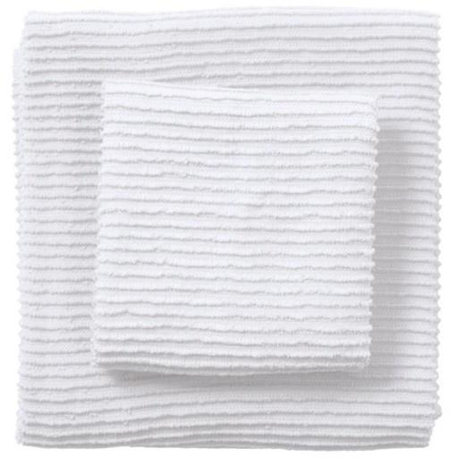 Now Designs Ripple Kitchen Towel, White