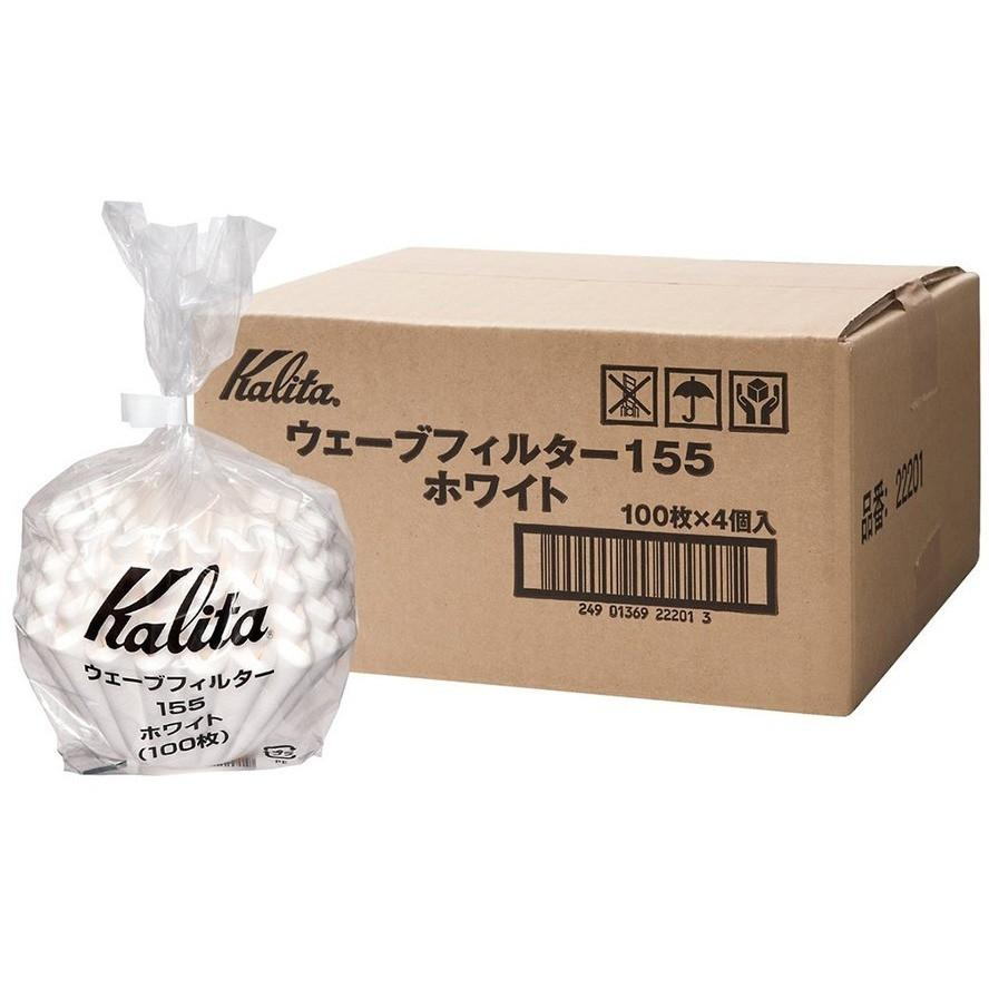 Kalita 155 White Wave Filters 100-Pack