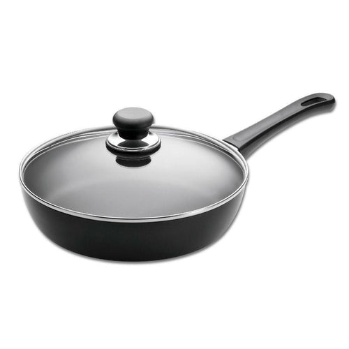 SCANPAN Classic 11in Ceramic Titanium Saute Pan with Lid