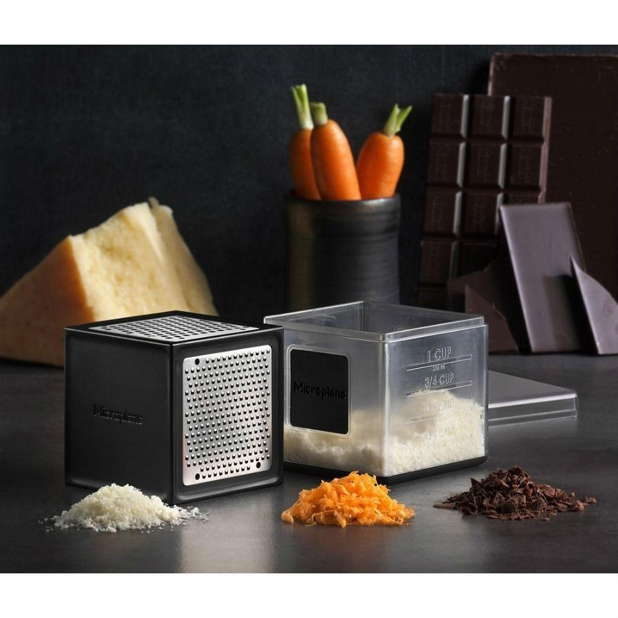 Microplane 3-in-1 Cube Grater