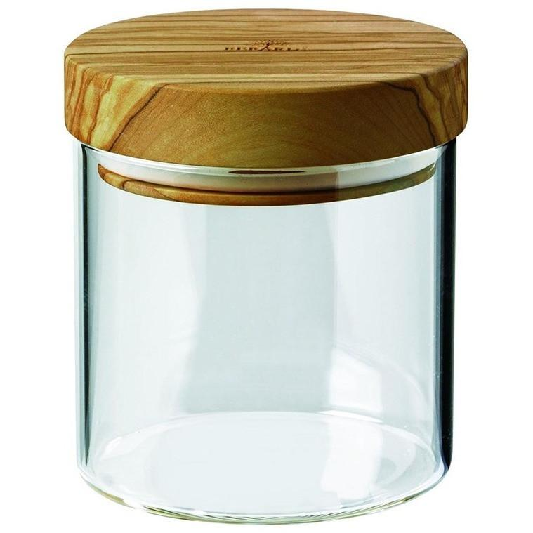 Berard Borosilicate Glass Jar with Olive Wood Lid 400ml