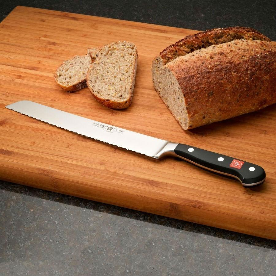 Wusthof Classic 9in Double-Serrated Bread Knife
