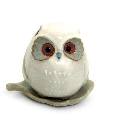 Shoyeido Baby Owl Incense Holder