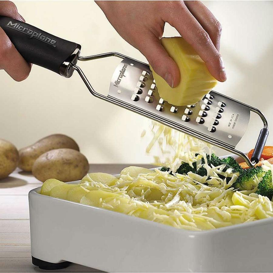 Microplane Gourmet Extra Coarse Grater Black