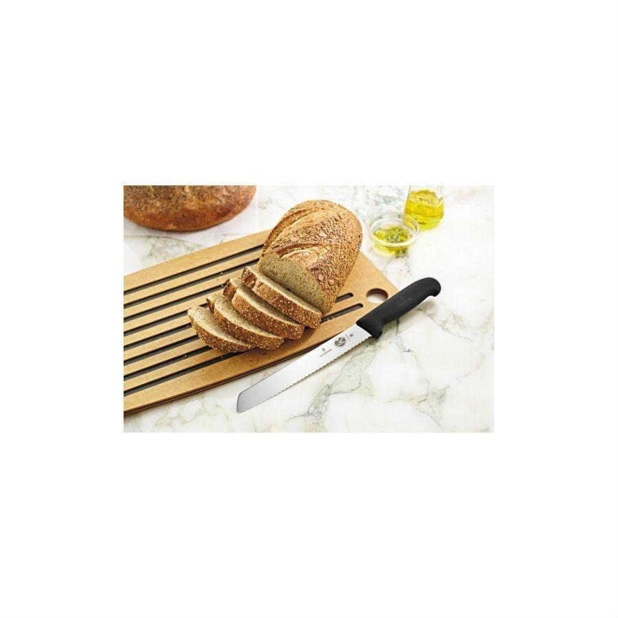 Victorinox Fibrox Pro 8in Serrated Bread Knife
