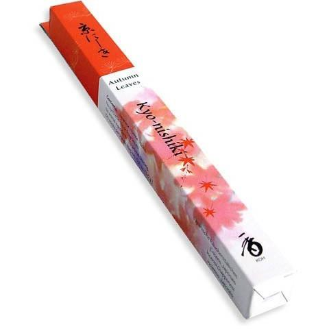 Shoyeido Daily Kyoto Autumn Leaves Kyo-nishiki Incense (35 Sticks)