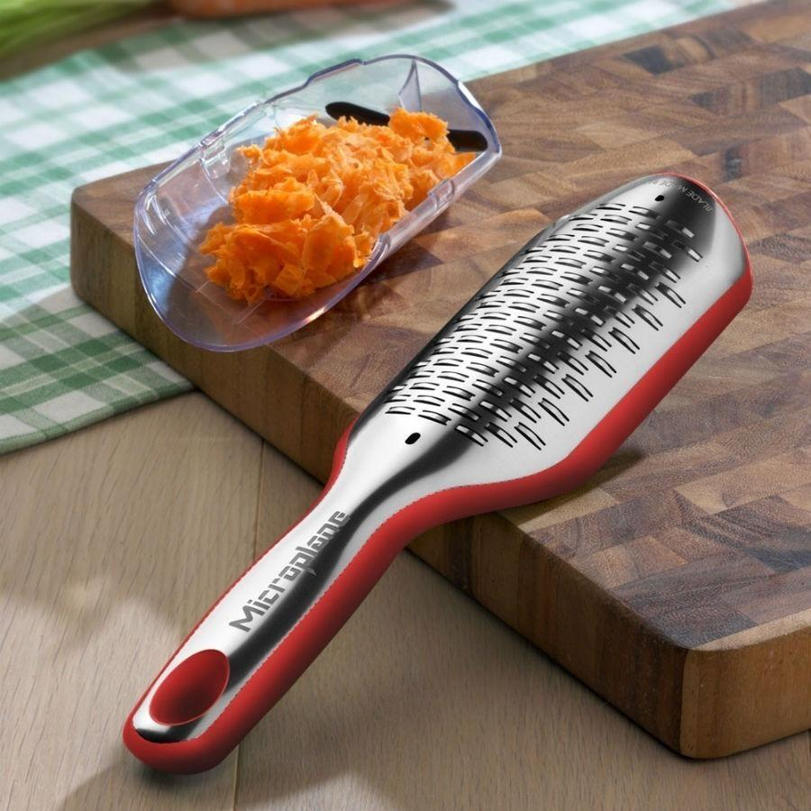 Microplane Elite Ribbon Grater Red