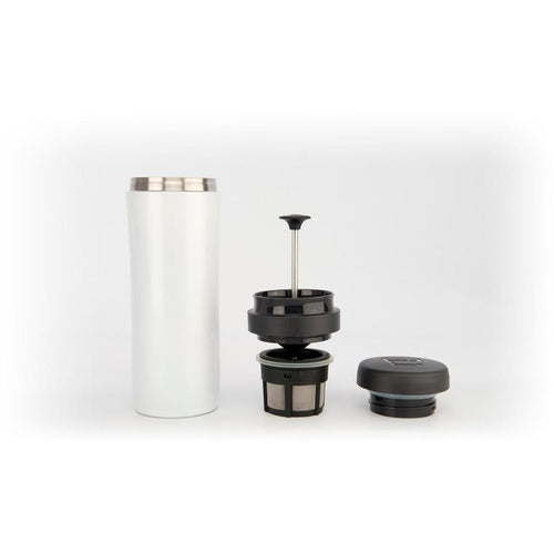 Espro Travel Press for Coffee Bright White