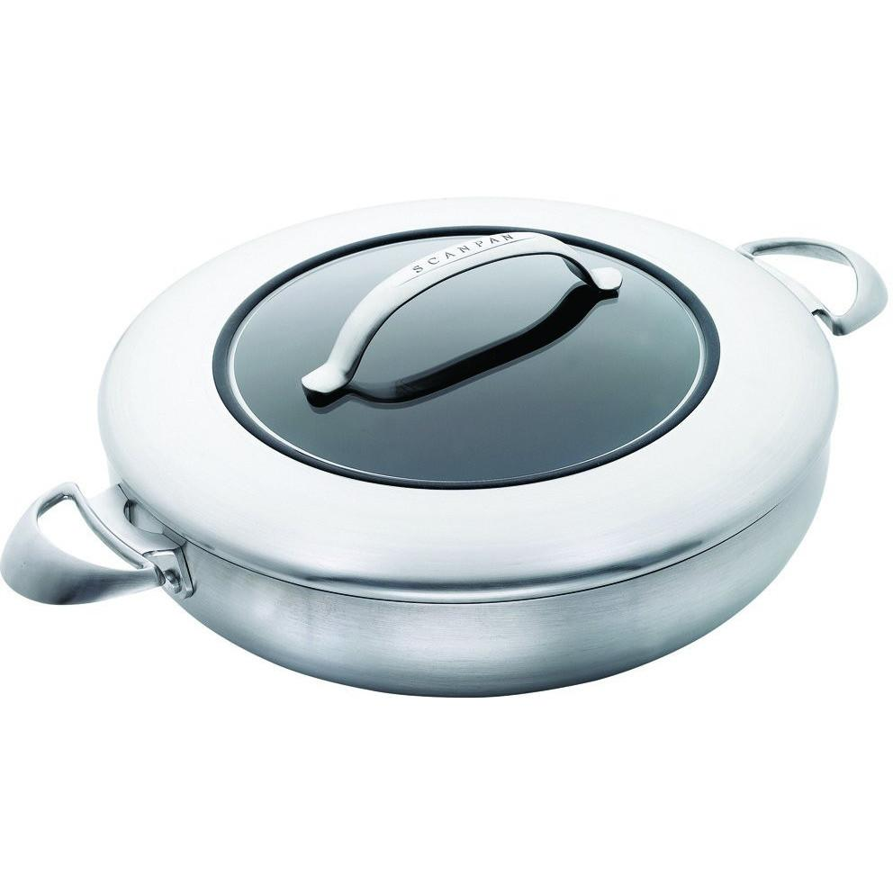 SCANPAN CTX 5.2L Ceramic Titanium Covered Chef Pan