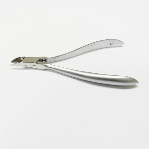 Suwada Stainless Steel V-373 Cuticle Clipper Matte Finish