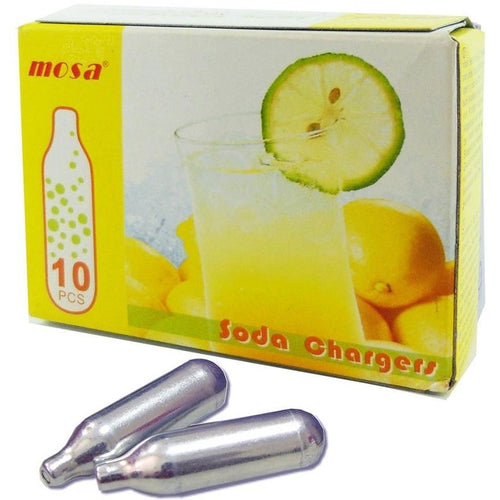 Mosa Soda Siphon Chargers - Box of 10