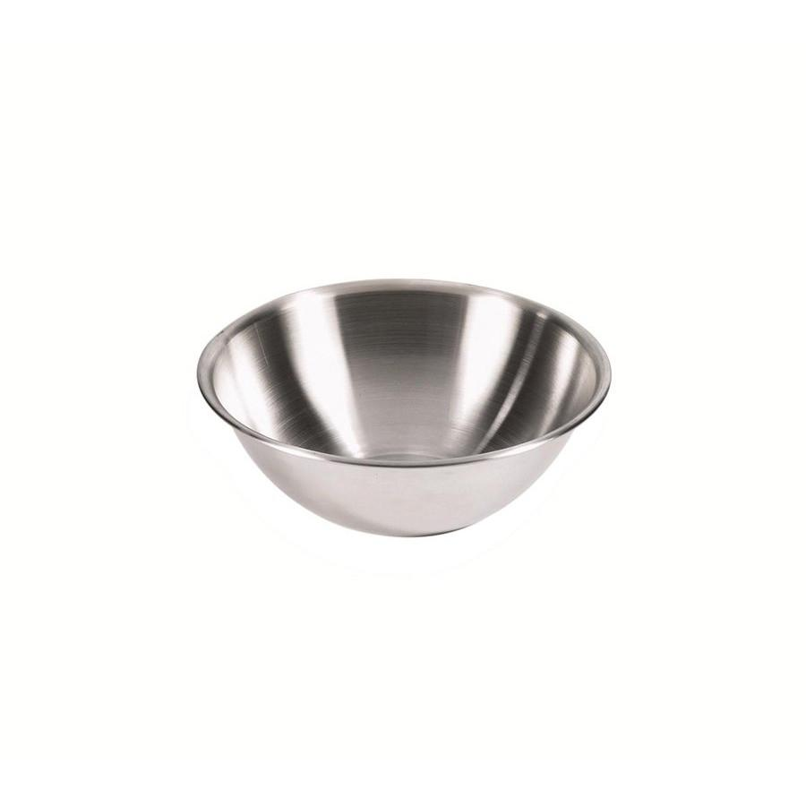 Browne 3-Quart 18/8 Stainless Steel Mixing Bowl