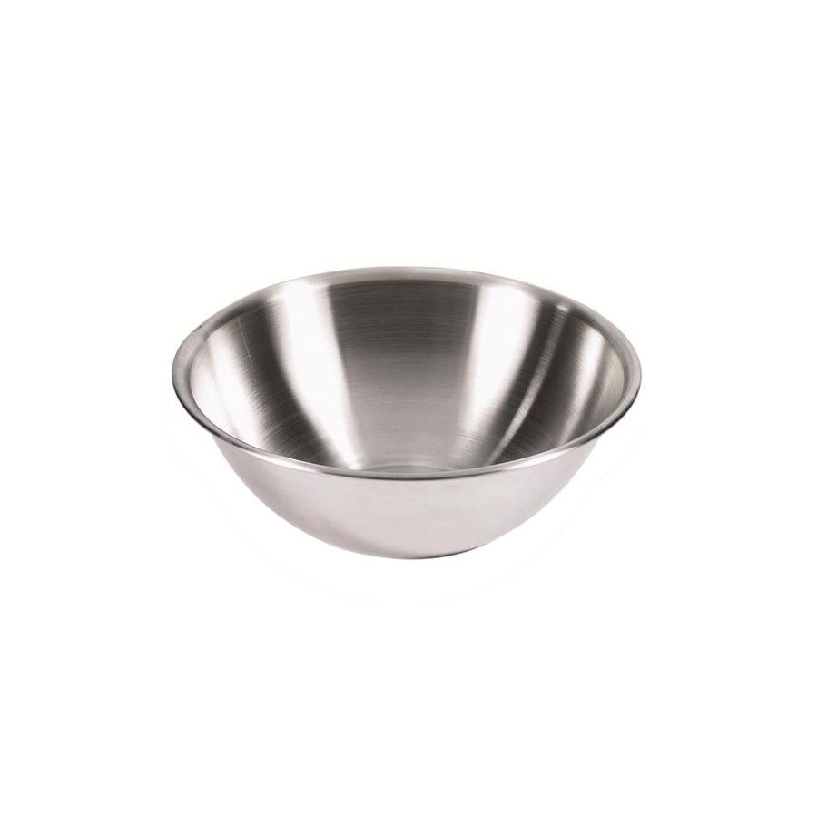 Browne 4-Quart 18/8 Stainless Steel Mixing Bowl