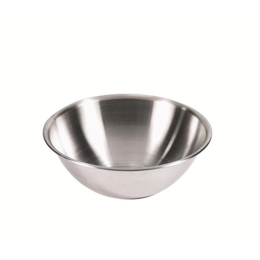 Browne 5-Quart 18/8 Stainless Steel Mixing Bowl