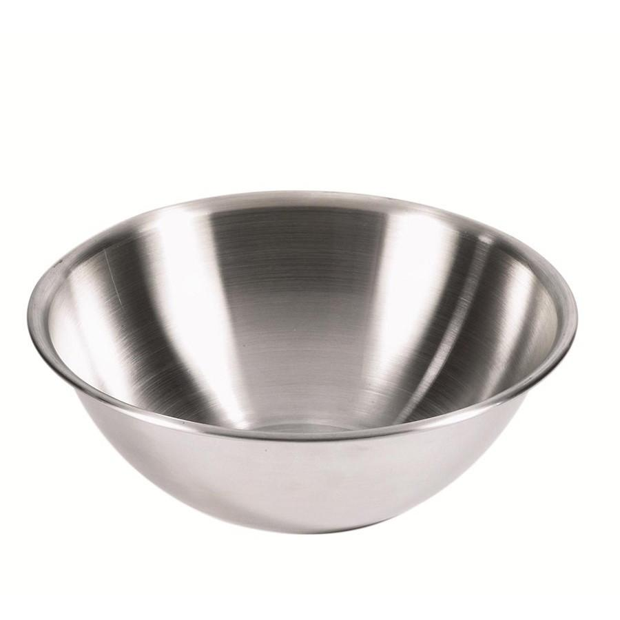 Browne 10-Quart 18/8 Stainless Steel Mixing Bowl