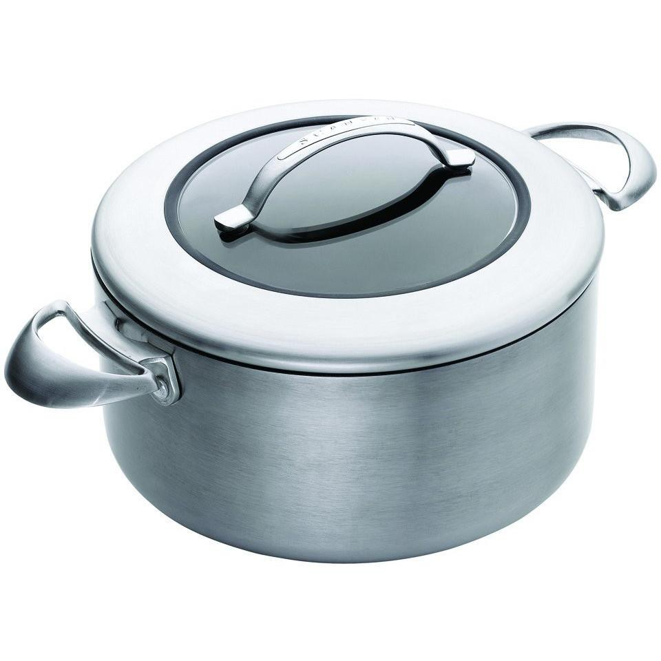 SCANPAN CTX 4.8L Ceramic Titanium Covered Dutch Oven