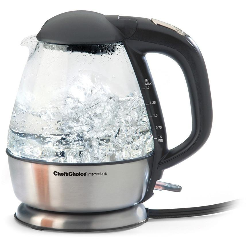 Chef's Choice 680 Cordless 1.5L Glass Kettle