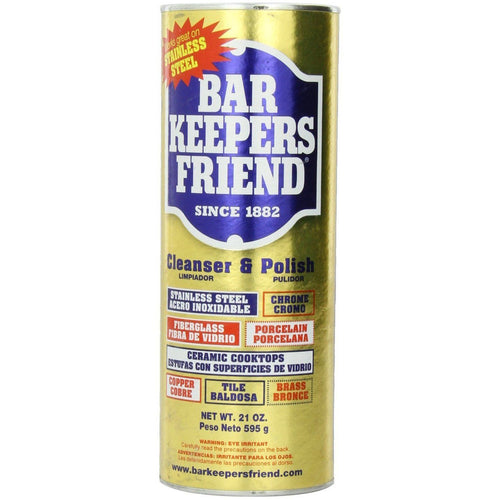 Bar Keepers Friend Cleanser and Polish Powder 21-Ounce