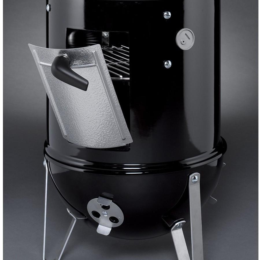 Weber 14.5in Smokey Mountain Cooker Smoker