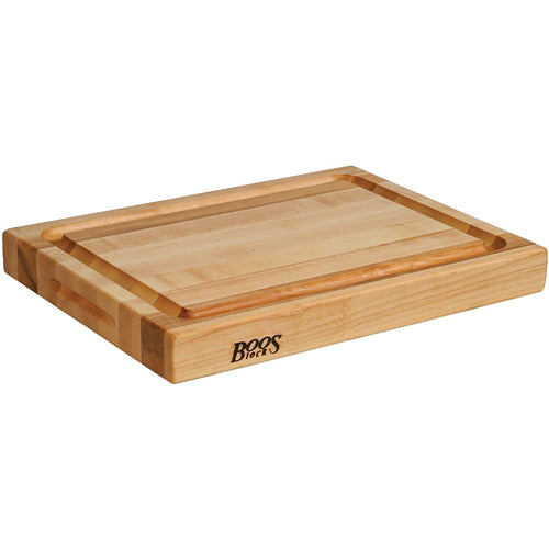 John Boos Maple RA-Board 20x15x2.25in Cutting Board with Groove