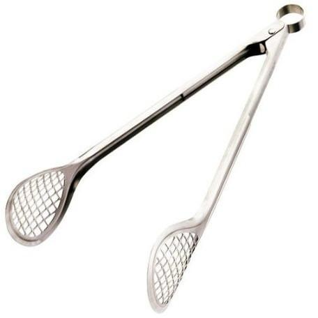 Cuisipro 12in Stainless Steel Grill and Fry Tongs