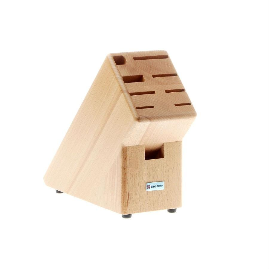 Wusthof 9-Slot Beech Knife Block