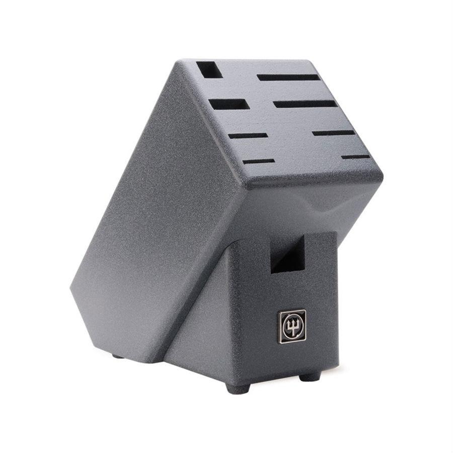 Wusthof 9-Slot Black Ash Knife Block