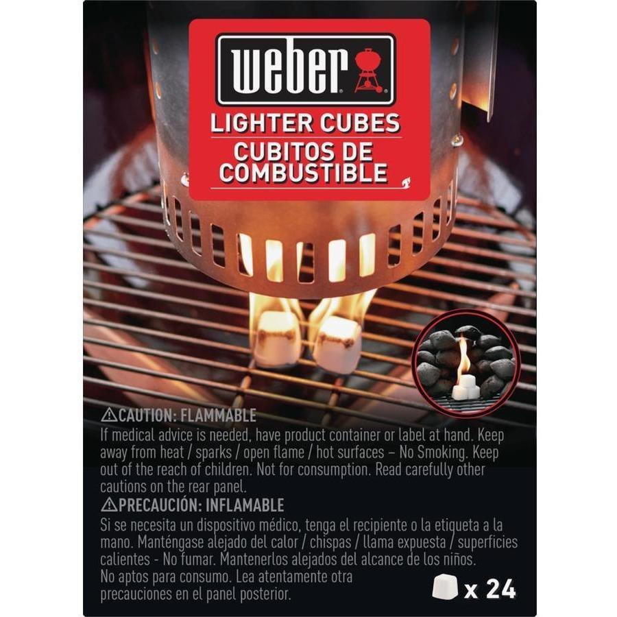Weber Lighter Cubes 24-Pack