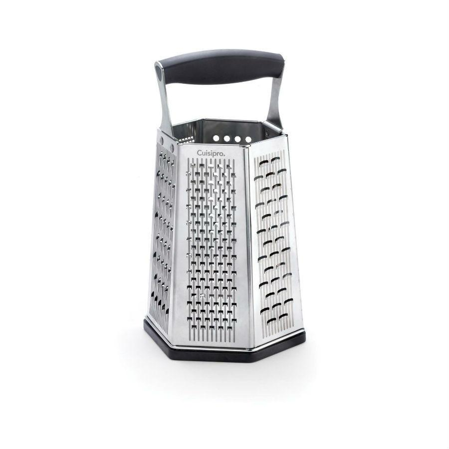 Cuisipro 6-Sided Box Grater with Surface Glide Technology