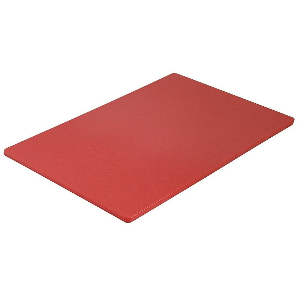 Cuisipro Restaurant 12x18in Cutting Board Red
