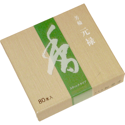 Shoyeido Horin Genroku Returning Spirit Incense (80 Sticks)