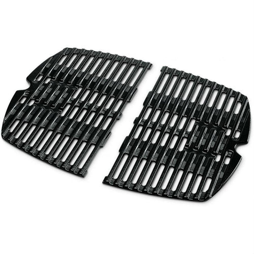 Weber Q 100/1000 Porcelain-Enameled Cast-Iron Cooking Grates