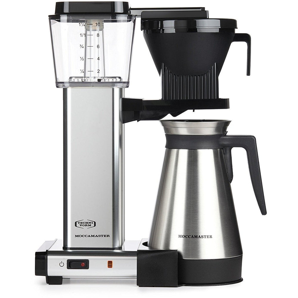 Technivorm Moccamaster KBGT 10-Cup Coffee Brewer with Thermal Carafe