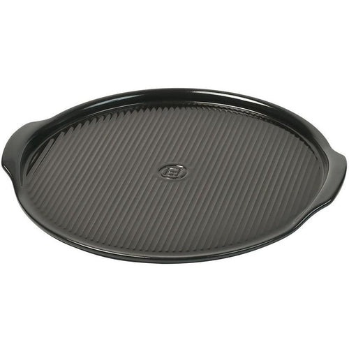 Emile Henry BBQ Ceramic 14.5in Pizza Stone II Charcoal