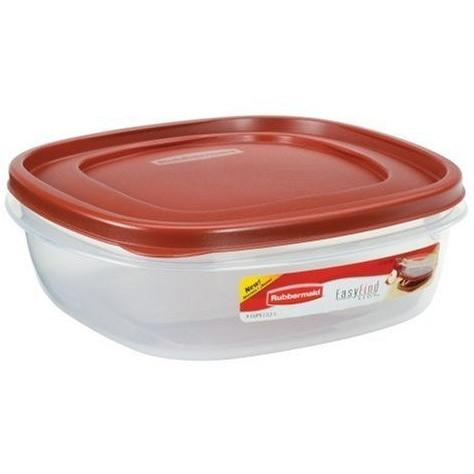 Rubbermaid Easy Find Lid Square 9-Cup Food Container