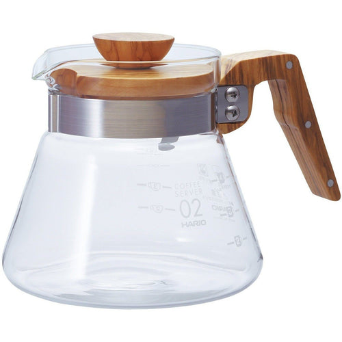 Hario Coffee Server 600 Olive Wood