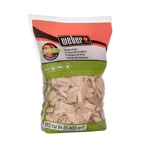 Weber Apple Wood Chips 2lbs