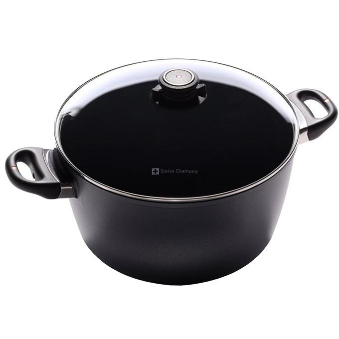 Swiss Diamond 8.5qt Non-Stick Soup Pot with Lid
