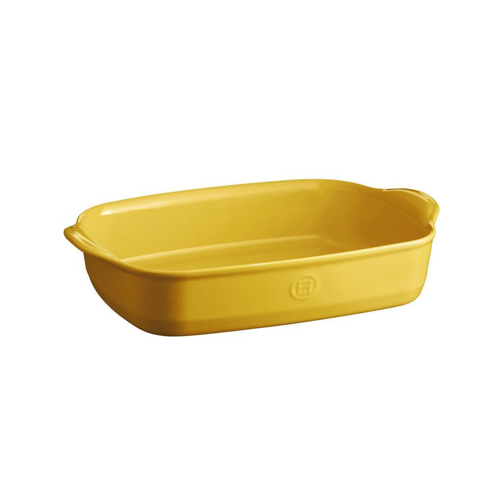 Emile Henry High Resistance 2.9L Rectangular Baking Dish Provence Yellow 2019
