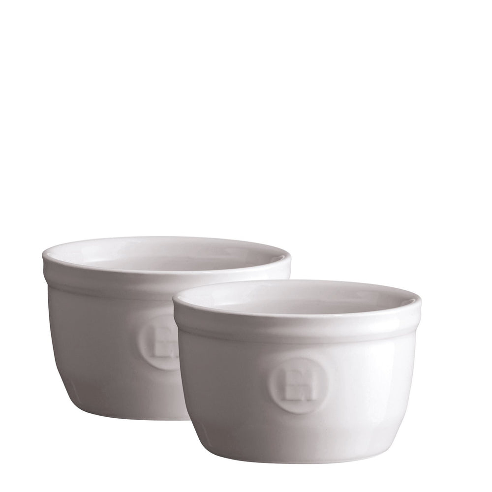 Emile Henry Ramekin Dish No9 Set of 2 Flour
