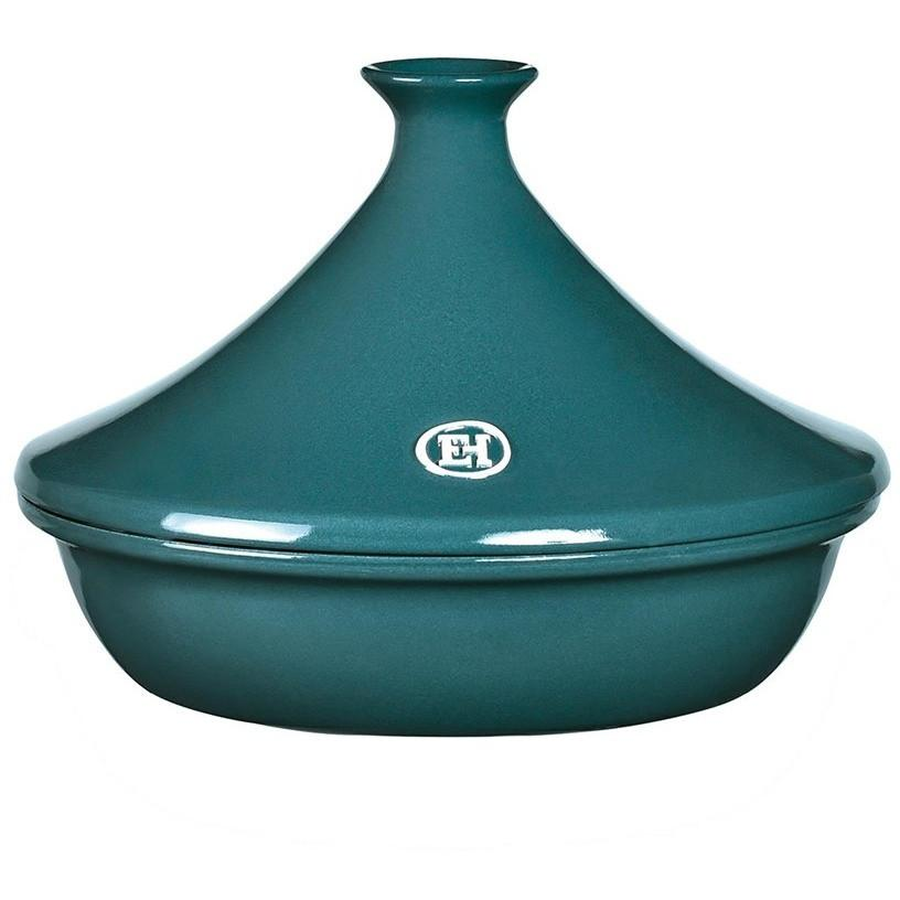 Emile Henry Flame Ceramic 2L Tagine II Blue Flame