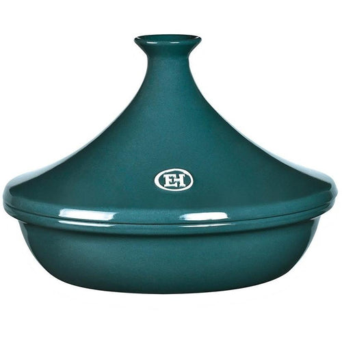 Emile Henry Flame Ceramic 3.5L Tagine II Blue Flame