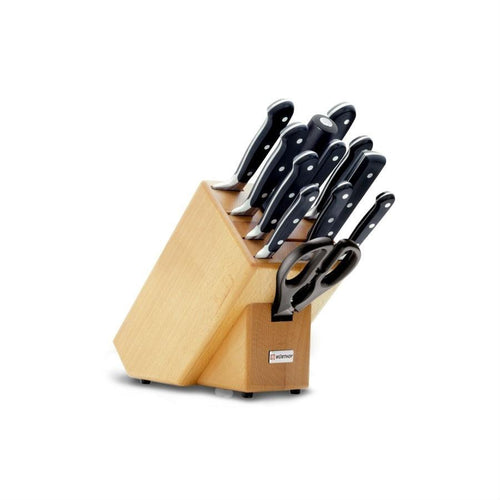 Wusthof Classic 12-Piece Knife Block Set
