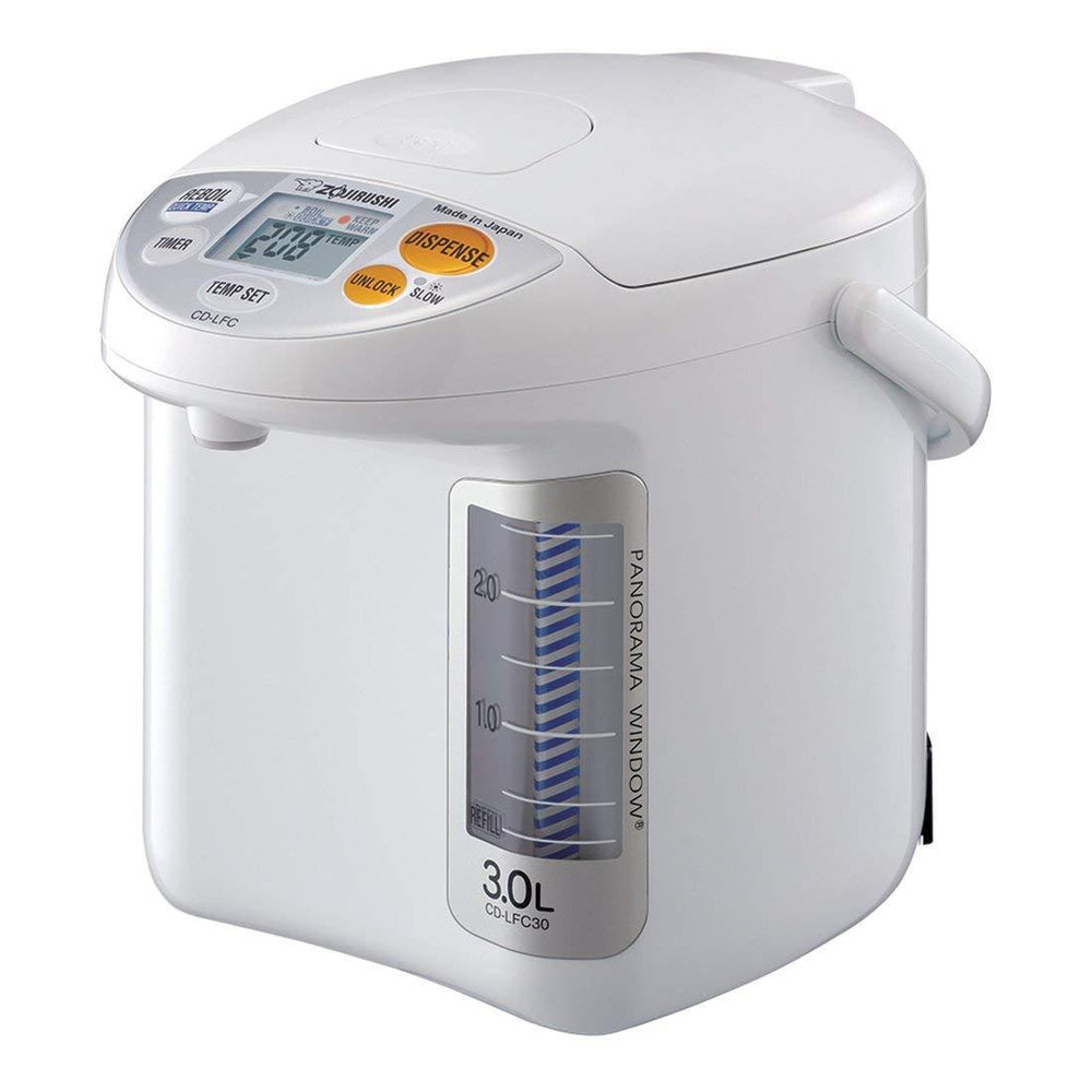 Zojirushi CD-LFC30 3-Liter Panorama Window Micom Water Boiler & Warmer
